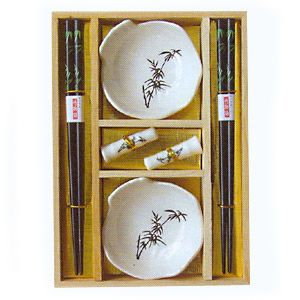 Набор для суши на 2 персоны светлый-бамбук мини
