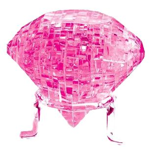 "3D-Пазл ""Бриллиант"" розовый"