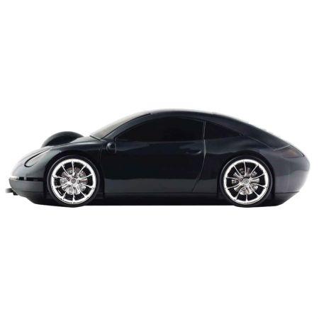 Мышь «Porshe 911» Lazaro оптическая черная USB в виде автомобиля