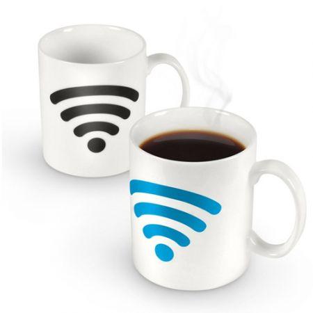 """Кружка """"Wi-Fi"""" термочувствительная и меняющая цвет"""