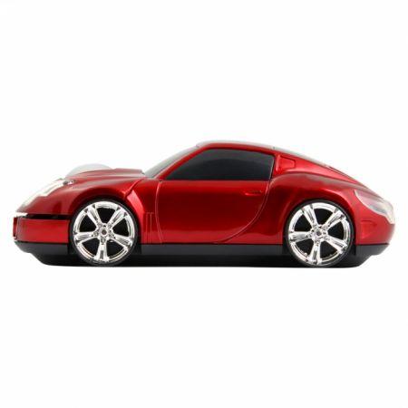 """Мышь машинка """"Lambo"""" красная USB в виде автомобиля"""