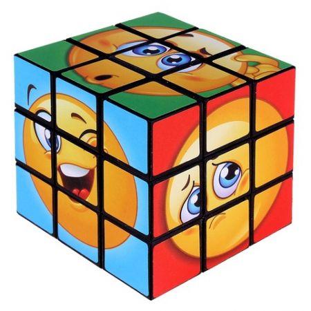 """Кубик-Рубика """"Смайлики"""" головоломка"""