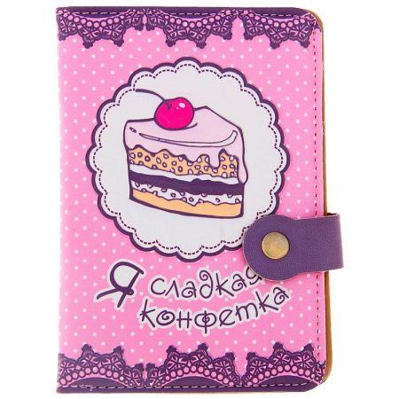 """Обложка для паспорта """"Я сладкая конфетка"""""""