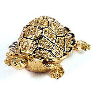 Шкатулка для ювелирных украшений Черепаха