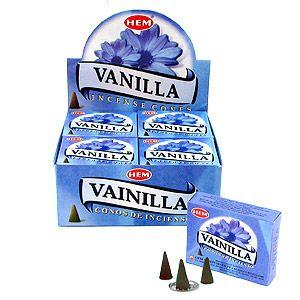 Конусы Ваниль (Vanilla) 10 шт
