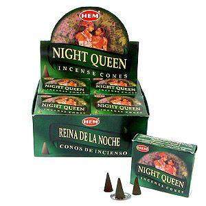 Конусы Королева ночи (Nightqueen) 10 шт