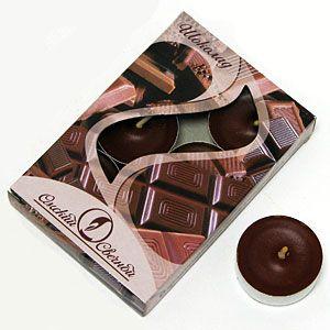 Набор свечей Шоколад, ароматизированные