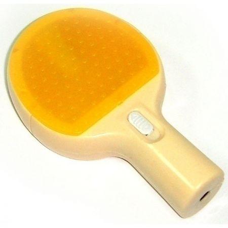 Точилка для карандашей Ракетка желтая