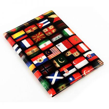 Обложка на паспорт N 112 флаги NEW