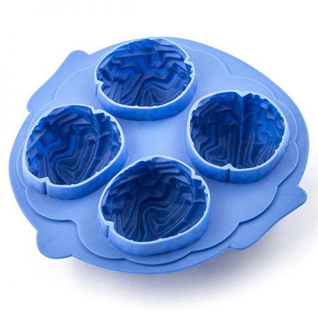 Формочки для льда Мозги синие