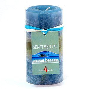 Свеча Sentimental, океан, 170 гр, 10 см