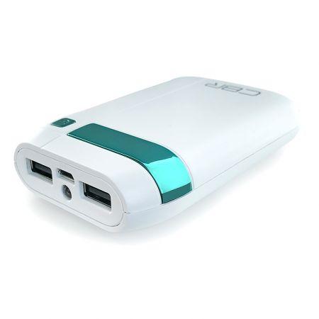 Power bank - внешний аккумулятор CBP 4075 White, 7500 mAh