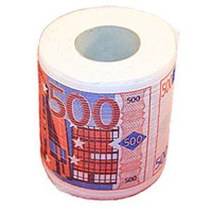 """Туалетная бумага """"500 Евро"""""""