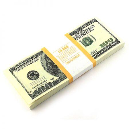 Отрывной блокнот 100$