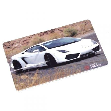 """Флешка кредитка """"Lamborghini"""" 8 Гб"""
