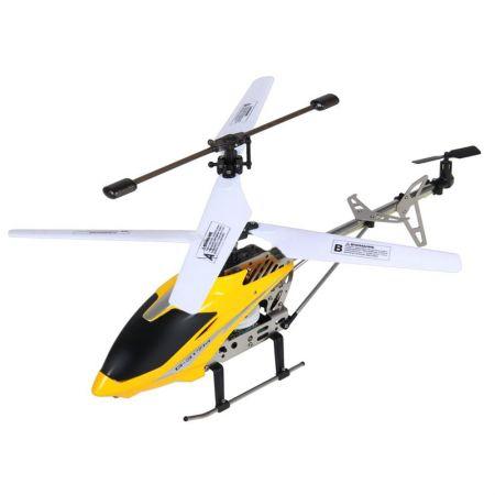 Боевой радиоуправляемый вертолет игрушка Gyro-317M с гироскопом
