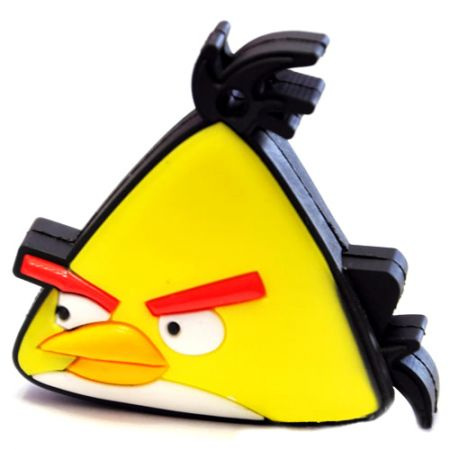 "Флешка ""Angry birds"" 16 Гб желтая птица плоская"