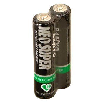 Батарейка 1.5V AAA (Пальчиковая маленькая) Sanyo R 03