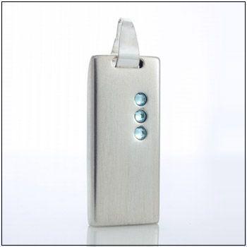 Флешка ювелирная ZanaDesign 16 Гб ZSV-CR