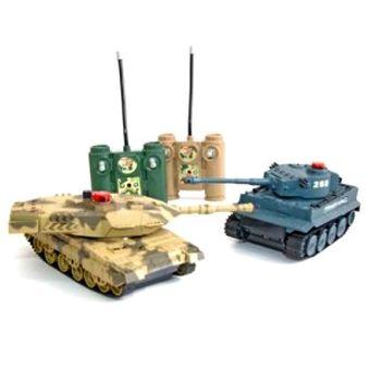 Игровой набор из двух танков с функцией ведения боя друг против друга! 1toy T56746