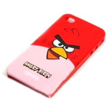 Чехол Angry B. для iPhone 4-4S красный