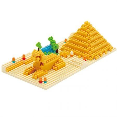 """Конструктор Nanoblock """"Пирамида Хиопса"""" 260 деталей (наноблоки)"""