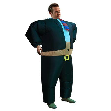 """Надувной костюм """"Начальник-деловой мужик"""""""