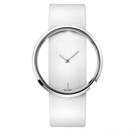 """Часы """"CK"""" наручные белые"""