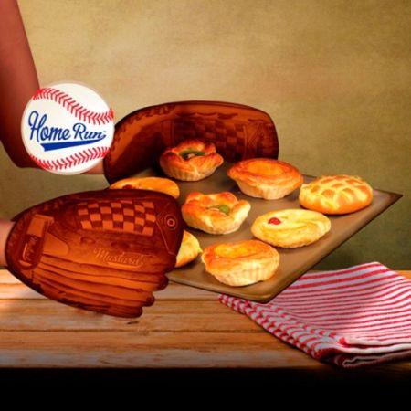 Прихватка «Бейсбольная перчатка»