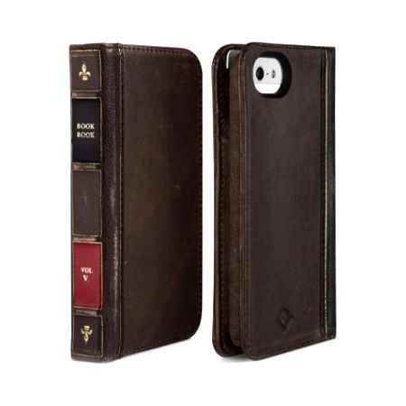 "Чехол-портмоне для iPhone 5 5S ""Старая книга"" bookbook"