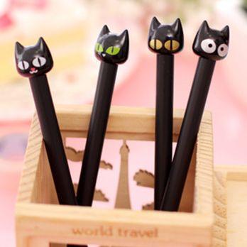 """Ручка """"Черные Кошки"""""""
