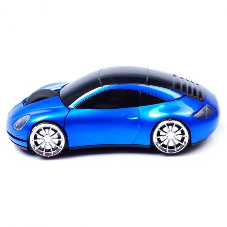 Мышь беспроводная «Porsche 911» оптическая синяя машинка