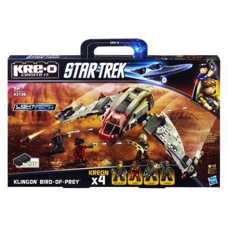 KRE-O Star Trek Клингонский корабль Bird-of-Pray A3136 конструктор
