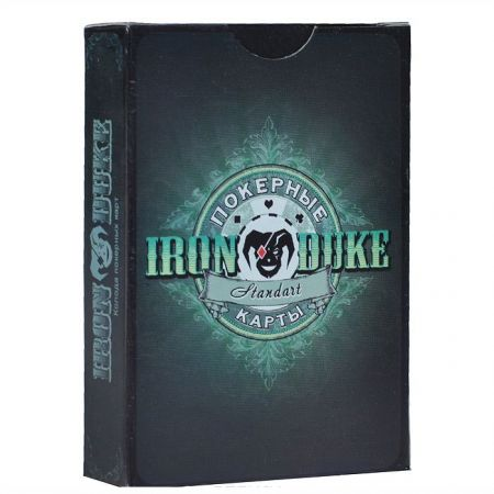 Карты для игры в покер Iron Duke Standart бумажные