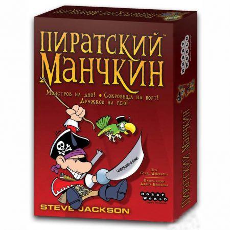 """Настольная игра """"Пиратский Манчкин"""""""