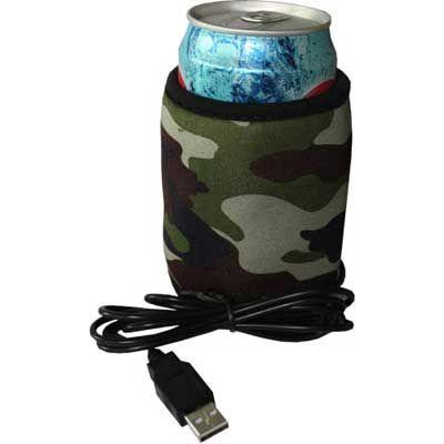 Камуфляжный нагреватель для стакана USB!
