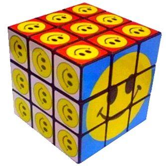 Кубик Рубик - Смайлики 5.5 см