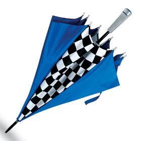 """Зонт """"Отличный финиш"""" синий"""