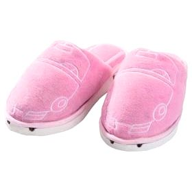 """Тапочки с подсветкой """"Тапкомобили"""" розовые"""