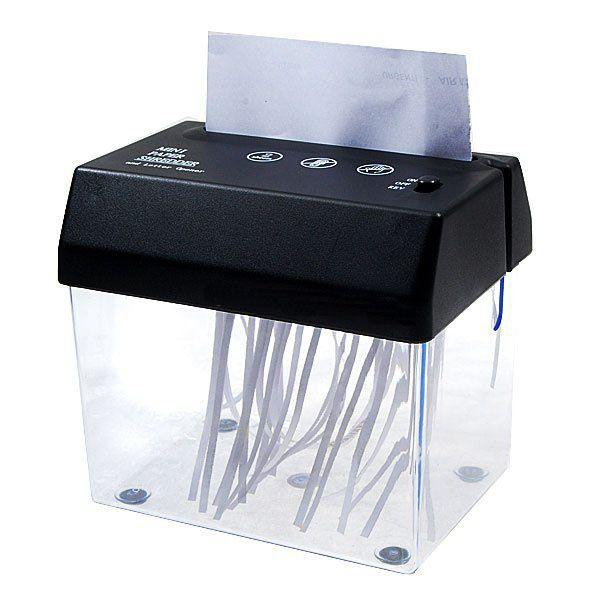 USB Уничтожитель бумаг мини - шредер