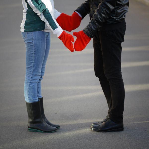 Варежки для влюбленных